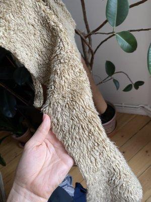 Zara Fake Fur Vest brown