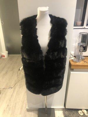 Fleece Vest black