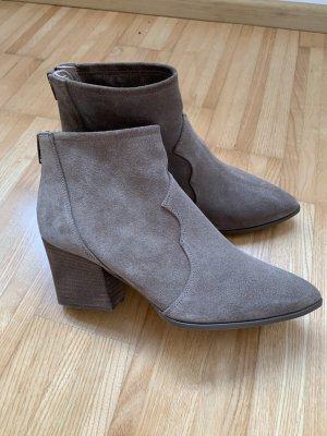 Unisa Tronchetto marrone-grigio Pelle