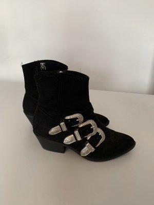 Western Cowboy Boots mit Schnallen