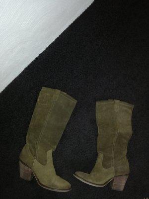 Pepe Jeans London Western Laarzen oker Suede