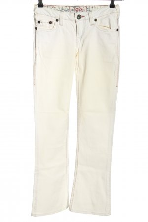 Western Glove Works Boot Cut Jeans natural white casual look