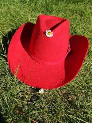 Cowboyhoed veelkleurig Wol