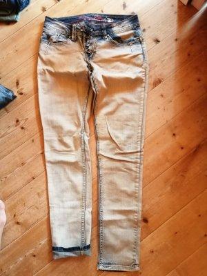 Buena Vista Pantalone a vita bassa blu pallido