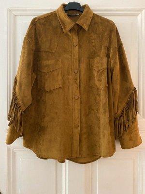 Western Shirt Suede
