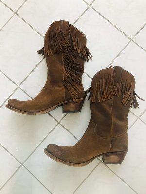 Tony Mora Western Boots brown