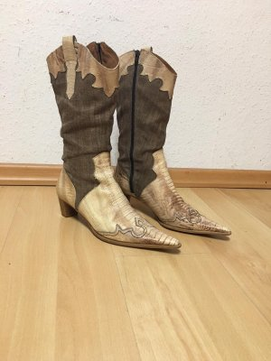 Lamica Western Boots multicolored leather
