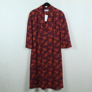 WET Kleid Gr. XL rot Fischmuster NEU (19/09/335)