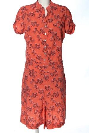 Wet Sukienka z krótkim rękawem Na całej powierzchni W stylu casual