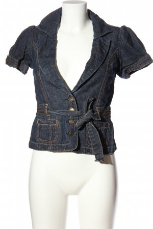 wet seal Jeansweste blau Casual-Look