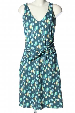 Wet Sukienka plażowa turkusowy-kremowy Na całej powierzchni W stylu casual