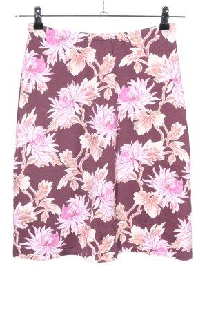 Wet Jupe stretch motif de fleur style décontracté