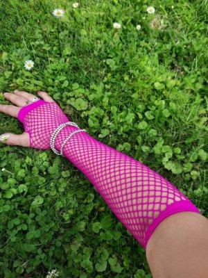 Kein Fingerless Gloves pink