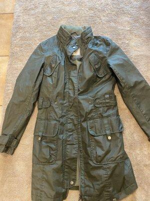 Esprit Manteau de pluie vert olive