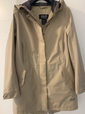 Jack Wolfskin Outdoor Jacket beige polyamide
