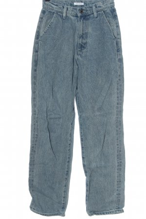 WEWOREWHAT Hoge taille jeans blauw casual uitstraling
