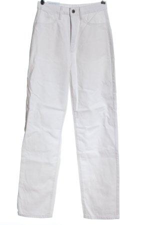 WEWOREWHAT Mom-Jeans weiß Casual-Look