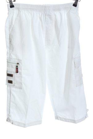WGR Pantalone a 3/4 bianco stile casual