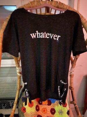Whatever Cooles Shirt Seiten Schnürrung Gr.38