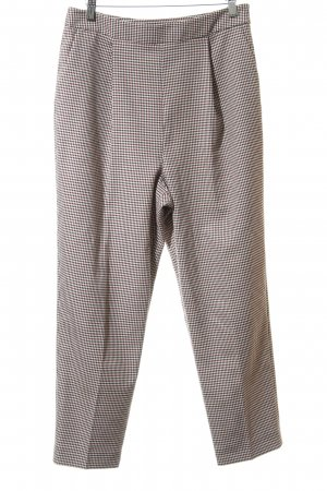 Whistles Bundfaltenhose Hahnentrittmuster Casual-Look