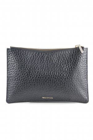 Whistles Clutch schwarz Casual-Look