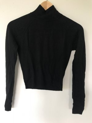 Whistles Knitted Top black