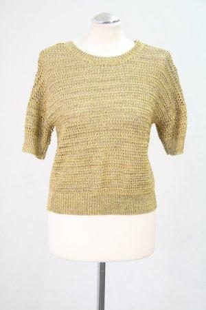 Whistles Goldener Pullover