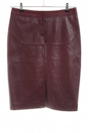 Whistles Lederrock rot Casual-Look