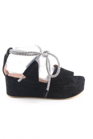 Whistles Platform Sandals black casual look