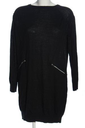 Whistles Pulloverkleid schwarz Casual-Look