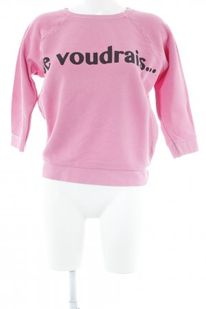 Whistles Rundhalspullover pink Casual-Look