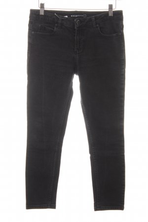 Whistles Skinny Jeans schwarz-anthrazit Casual-Look