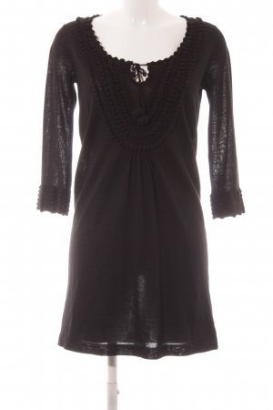 Whistles Strickkleid schwarz Casual-Look