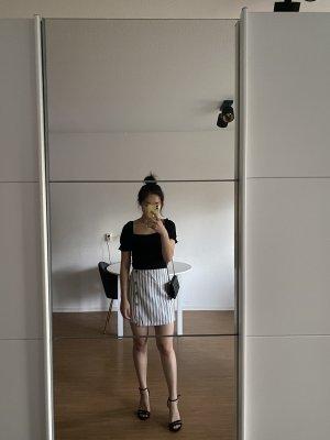 SheIn Minigonna bianco-azzurro