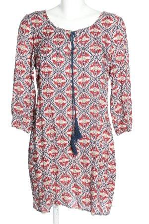 White Crow Sukienka tunika Na całej powierzchni W stylu casual