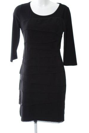 White House Black Market Volantkleid schwarz Elegant