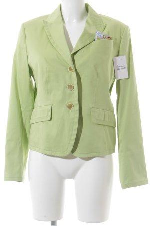 White Label Kurz-Blazer blassgrün extravaganter Stil