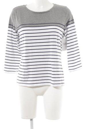 White Label Longshirt Streifenmuster Casual-Look