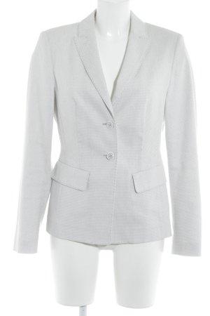 White Label Blazer tejido gris claro-blanco puro moteado estilo «business»