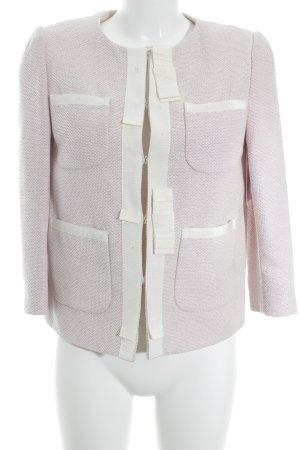 White Label Woll-Blazer rosé-weiß Elegant