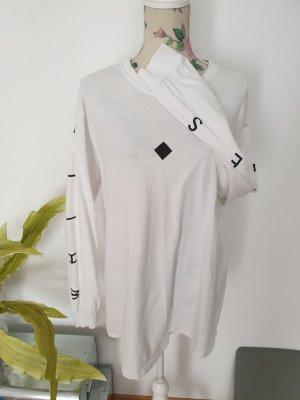 White Lies Band Shirt, weißes Longsleeve, Sweatshirt