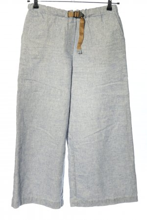 White Sand Culottes light grey flecked casual look