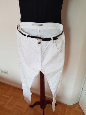 Made in Italy Vaquero hipster blanco