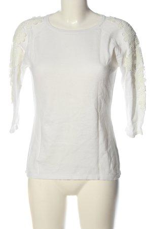 White Strickshirt