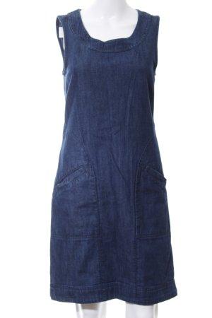 White Stuff Jeanskleid stahlblau Jeans-Optik