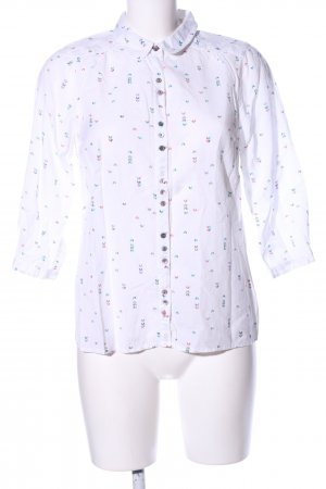 White Stuff Langarm-Bluse Allover-Druck Business-Look