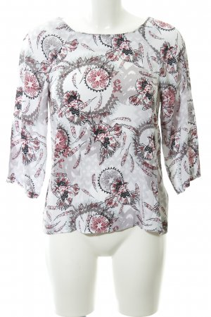 White Stuff Langarm-Bluse florales Muster Casual-Look