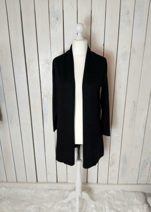 White T Cardigan Jacke schwarz Gr. M/38
