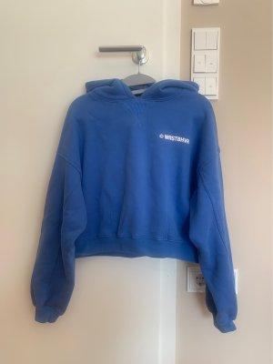 WRSTBHVR Hooded Sweater cornflower blue