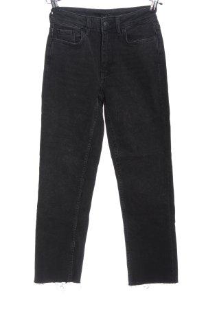 WHY7 Boyfriend jeans zwart casual uitstraling